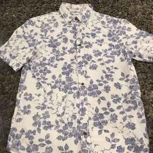 Old navy floral polo